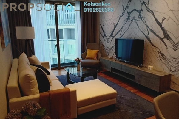 Condominium For Rent in Stonor 3, KLCC Freehold Fully Furnished 2R/2B 4k