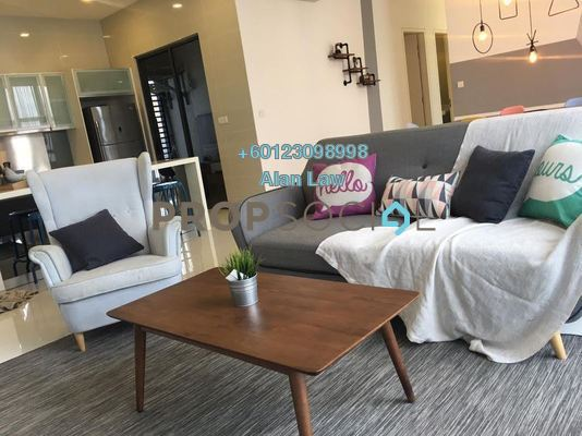 Condominium For Rent in Mirage Residence, KLCC Freehold Fully Furnished 3R/3B 6.2k
