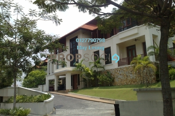 For Sale Bungalow at Federal Hill, Bangsar Freehold Semi Furnished 6R/5B 8.5m