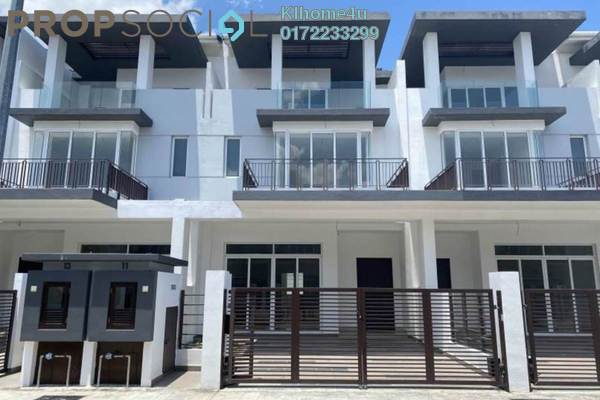 Terrace For Sale in Aquamarine, Taman Putra Prima Freehold Unfurnished 5R/5B 974k