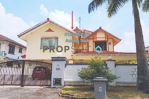 Semi-Detached For Sale in Taman Bukit Rinting, Pasir Gudang Freehold Unfurnished 5R/4B 1.24m