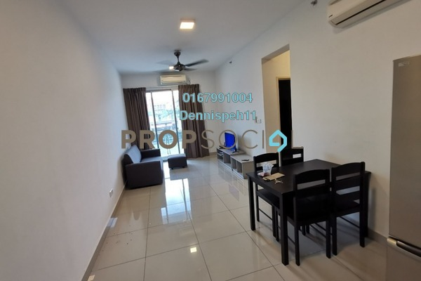 Condominium For Rent in Austin Suites, Tebrau Freehold Fully Furnished 1R/1B 1k