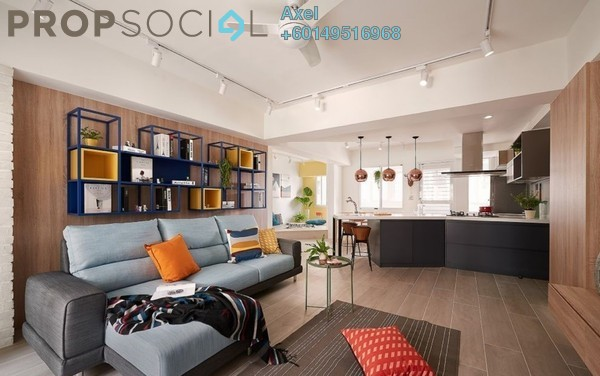 For Sale Condominium at Seri Cempaka, Cheras Freehold Fully Furnished 3R/3B 546k