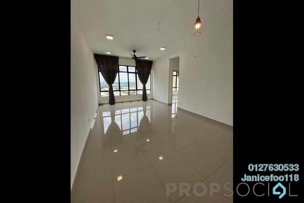 For Rent Condominium at Austin Regency, Tebrau Freehold Semi Furnished 2R/1B 1.1k