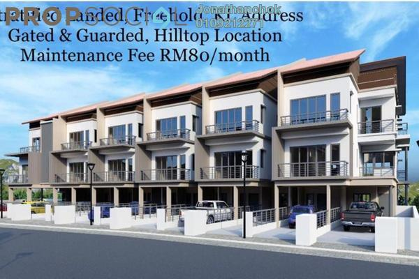 Townhouse For Sale in Tiara Hills, Cheras Freehold Unfurnished 3R/4B 1.3m