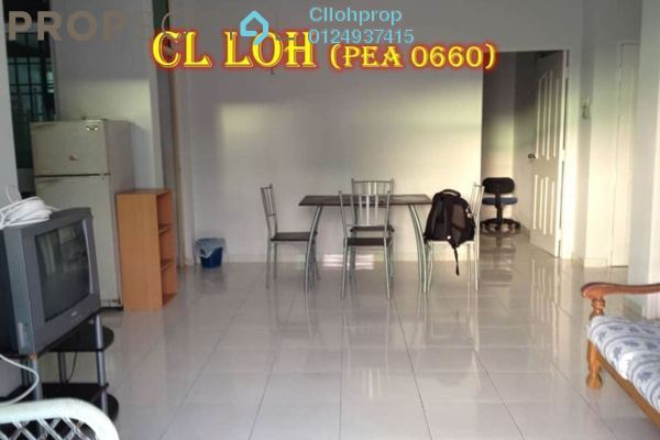 Condominium For Rent in The Bayu, Tanjung Tokong Freehold Semi Furnished 3R/2B 1.2k