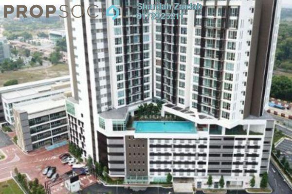 For Rent Condominium at Temasya 8, Temasya Glenmarie Freehold Fully Furnished 2R/2B 2.1k