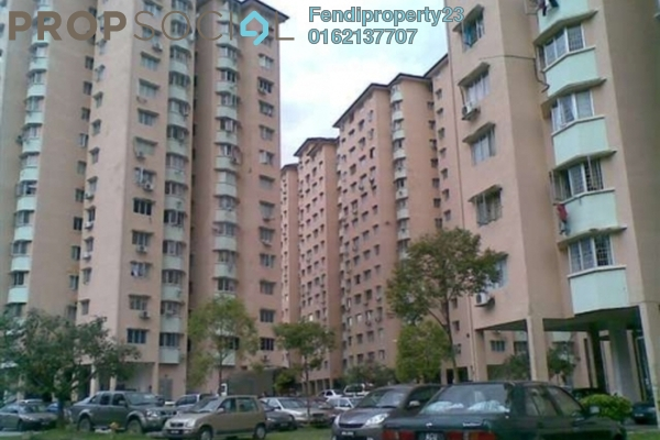 Apartment For Sale in Aman Dua, Kepong Freehold Semi Furnished 3R/2B 250k