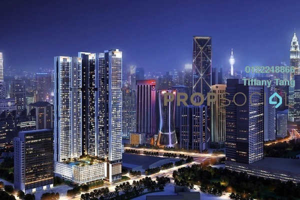 For Sale Serviced Residence at Agile Embassy Garden, KLCC Freehold Semi Furnished 2R/2B 1.66m