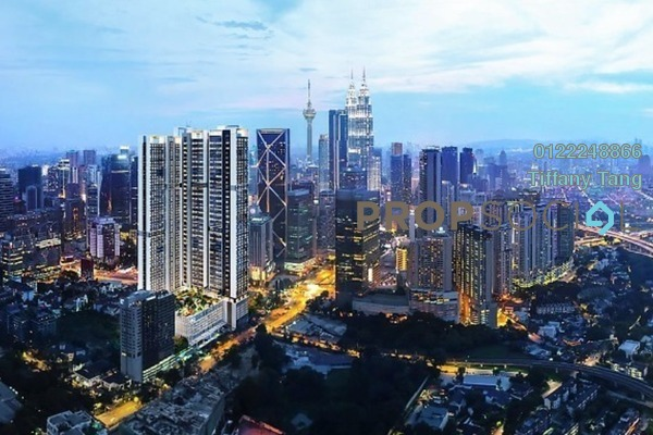 For Sale Serviced Residence at Agile Embassy Garden, KLCC Freehold Semi Furnished 1R/1B 1.14m