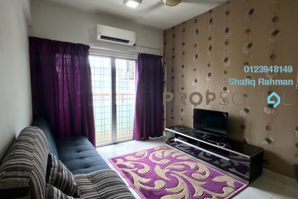 Apartment For Sale in Mandy Villa, Segambut Freehold Fully Furnished 3R/2B 310k