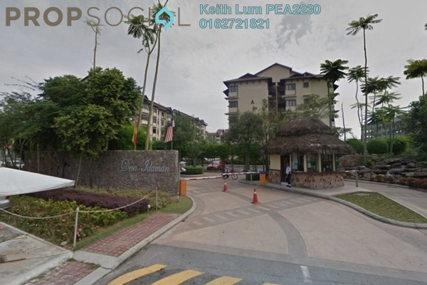 For Rent Apartment at Desa Idaman Residences, Puchong Freehold Semi Furnished 3R/2B 1.4k