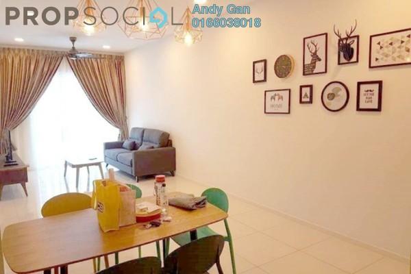 Serviced Residence For Rent in Eco Business Park I, Johor Bahru Freehold Fully Furnished 2R/2B 1.8k