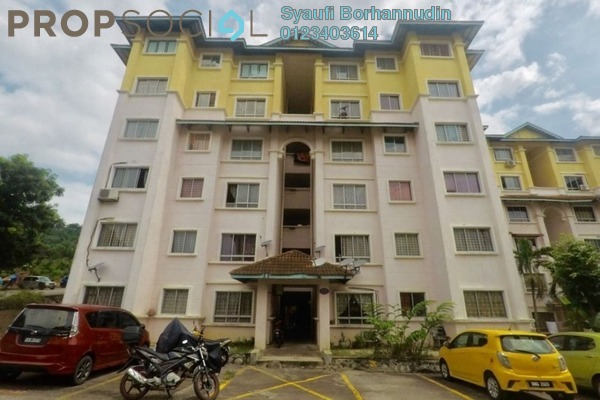For Sale Apartment at Astana Alam Apartment, Kuala Selangor Leasehold Fully Furnished 3R/2B 210k