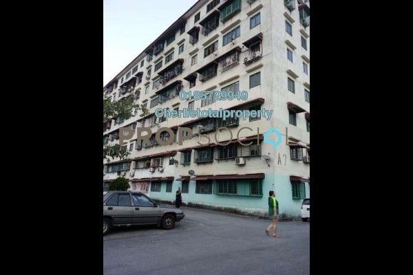 For Rent Apartment at Taman Bukit Segar, Cheras Freehold Semi Furnished 3R/1B 700translationmissing:en.pricing.unit