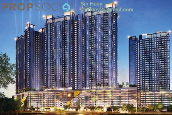 Condominium For Sale in PV18 Residence, Setapak Leasehold Unfurnished 3R/2B 486k