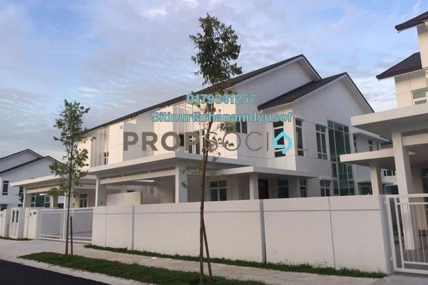 Semi-Detached For Sale in Elymus, Bandar Sri Sendayan Freehold Unfurnished 6R/6B 1.49m