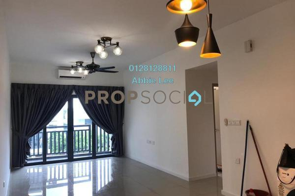 For Sale Condominium at Suria Residence, Bukit Jelutong Freehold Semi Furnished 2R/2B 560k