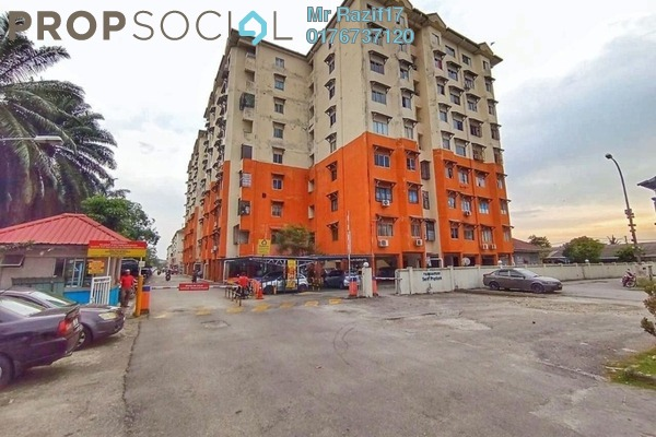 Apartment For Sale in Seri Proton Apartment, Klang Freehold Semi Furnished 3R/2B 175k