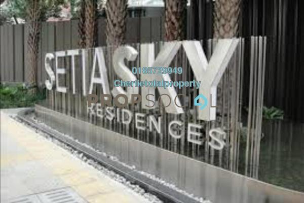 For Rent Condominium at Setia Sky Residences, KLCC Freehold Fully Furnished 3R/2B 2.2k