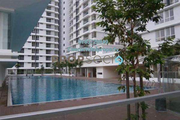 For Rent Condominium at Platinum Hill PV2, Setapak Freehold Semi Furnished 4R/2B 1.8k