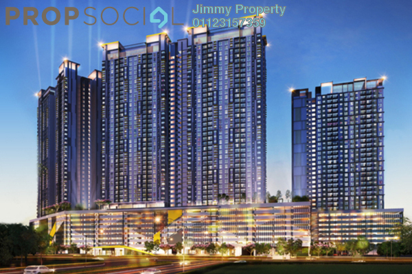 Condominium For Sale in PV18 Residence, Setapak Leasehold Unfurnished 3R/2B 489k