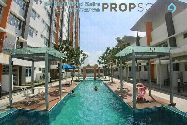 Condominium For Sale in 228 Selayang Condominium, Selayang Freehold Fully Furnished 3R/2B 399k