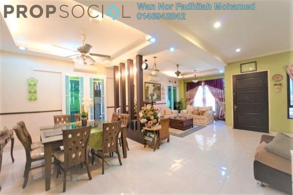 Terrace For Sale in Damai Jasa, Alam Damai Freehold Semi Furnished 4R/3B 889k