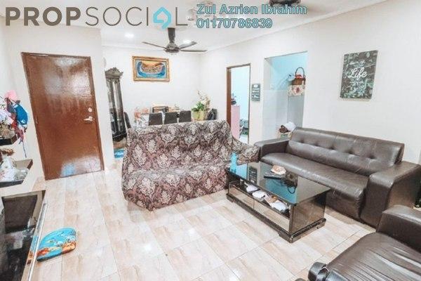 Apartment For Sale in Sri Kayangan Apartment, Ukay Freehold Semi Furnished 3R/2B 290k