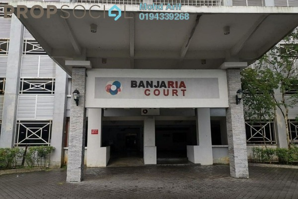 For Sale Condominium at Banjaria Court, Batu Caves Freehold Unfurnished 3R/2B 345k
