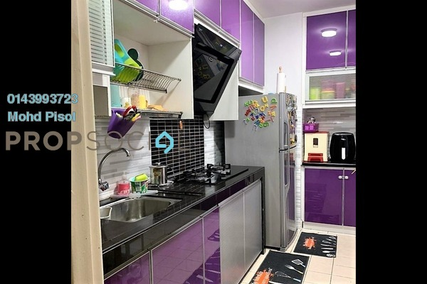 Condominium For Sale in Alam Prima, Shah Alam Freehold Semi Furnished 3R/2B 350k