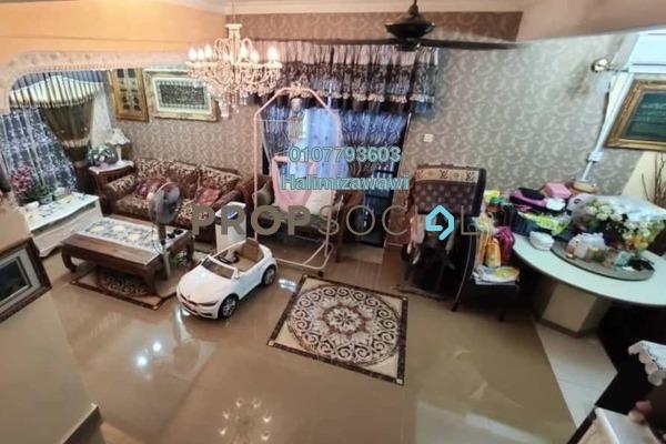 Terrace For Sale in BP10, Bandar Bukit Puchong Freehold Semi Furnished 4R/4B 680k