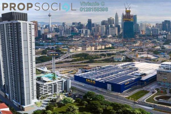 For Sale Condominium at One Cochrane Residences, Kuala Lumpur Freehold Unfurnished 2R/2B 880k