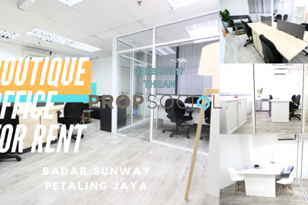 Office For Rent in Leisure Commerce Square, Bandar Sunway Freehold Fully Furnished 0R/0B 1.65k