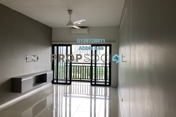 Condominium For Rent in Suria Residence, Bukit Jelutong Freehold Semi Furnished 3R/2B 2k