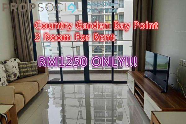 Condominium For Rent in Country Garden Danga Bay, Danga Bay Freehold Fully Furnished 2R/1B 1.25k