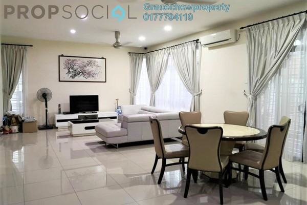 Semi-Detached For Rent in Adda Heights, Tebrau Freehold Fully Furnished 6R/5B 3.2k