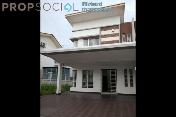 Semi-Detached For Rent in Setia Impian 7, Setia Alam Freehold Semi Furnished 3R/3B 1.5k