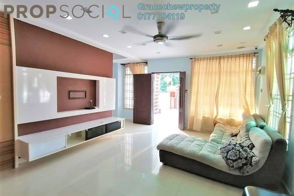 Terrace For Sale in Taman Bukit Indah, Bukit Indah Freehold Fully Furnished 4R/3B 657k