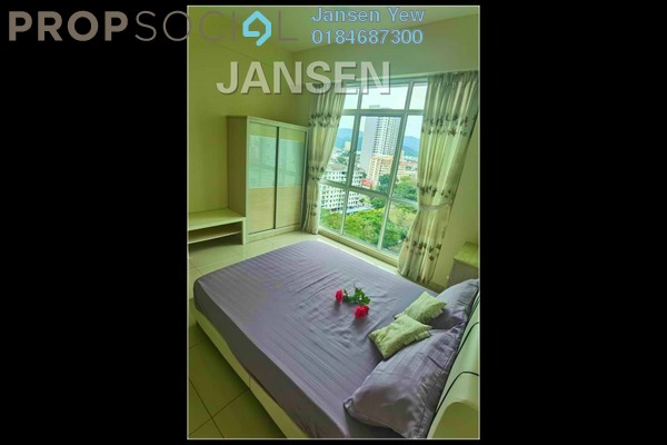 For Rent Condominium at Straits Garden, Jelutong Freehold Fully Furnished 3R/2B 2k