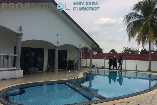 Bungalow For Sale in Section 3, Shah Alam Freehold Semi Furnished 5R/7B 2.3m