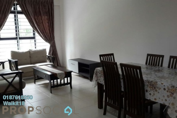 Condominium For Rent in The Garden Residences, Skudai Freehold Fully Furnished 3R/2B 1.5k