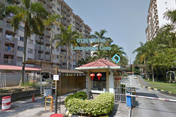 Apartment For Sale in Arena Green, Bukit Jalil Freehold Fully Furnished 2R/2B 255k