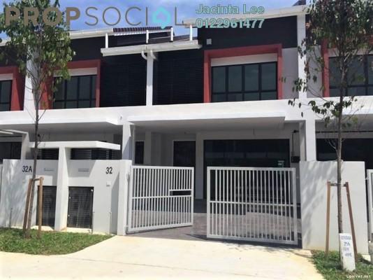 Terrace For Sale in Nobat, Bandar Bukit Raja Freehold Semi Furnished 4R/3B 583k