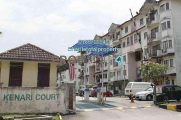 For Rent Apartment at Kenari Court, Pandan Indah Freehold Semi Furnished 3R/2B 1k