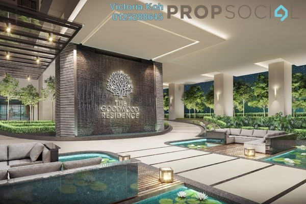 For Sale Serviced Residence at The Goodwood Residence, Bangsar South Leasehold Semi Furnished 4R/3B 857k