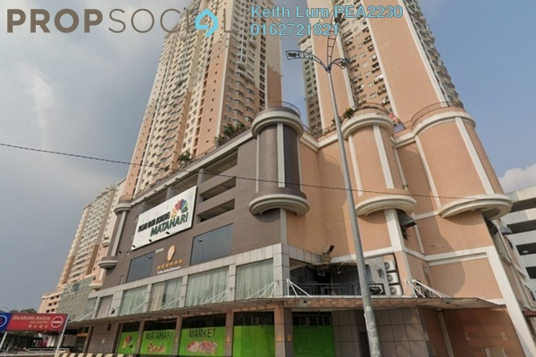 Condominium For Rent in Rhythm Avenue, UEP Subang Jaya Freehold Fully Furnished 3R/2B 1.45k