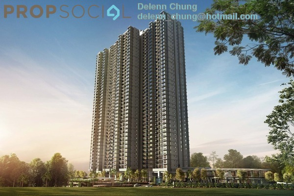 Serviced Residence For Sale in The Goodwood Residence, Bangsar South Leasehold Semi Furnished 4R/3B 858k