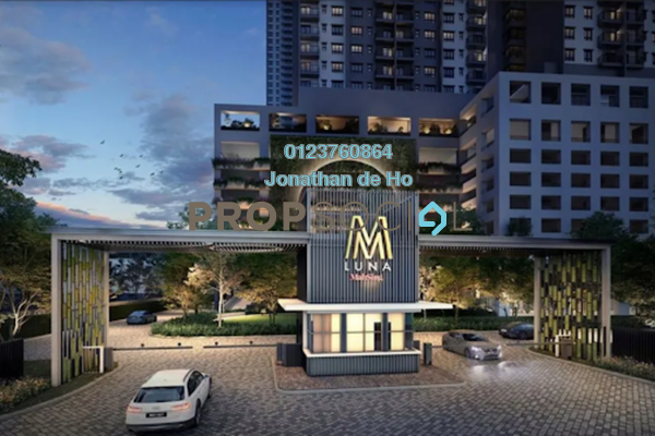 Serviced Residence For Sale in M Luna, Kepong Leasehold Semi Furnished 2R/2B 400k