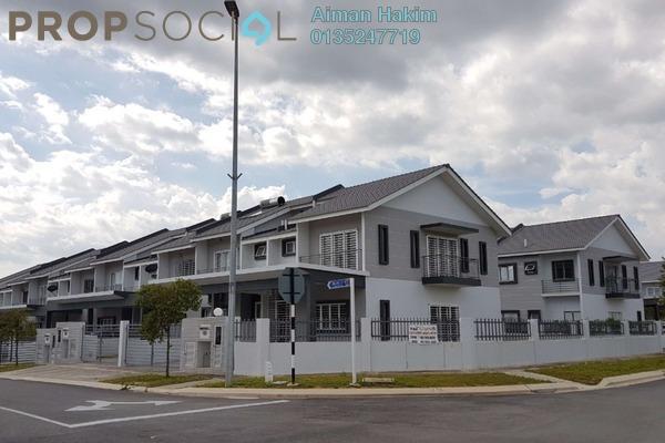 Terrace For Sale in Laman View, Cyberjaya Freehold Unfurnished 4R/4B 880k